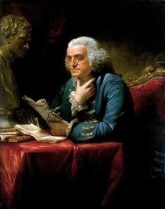 Benjamin Franklin számadása életéről
