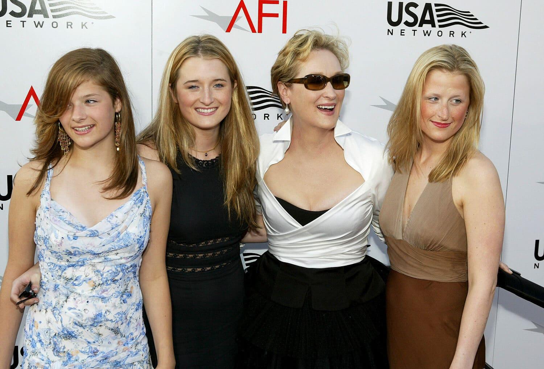 Meryl Streep lányaival